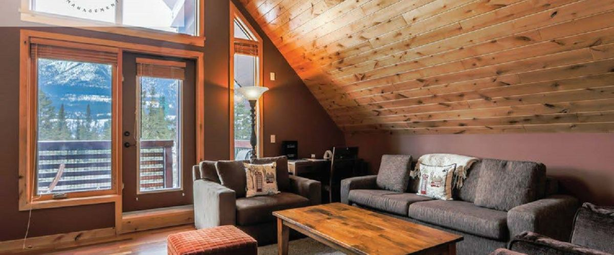 Cozy A-Frame-styled nook in a Spring Creek Vacations rental suite