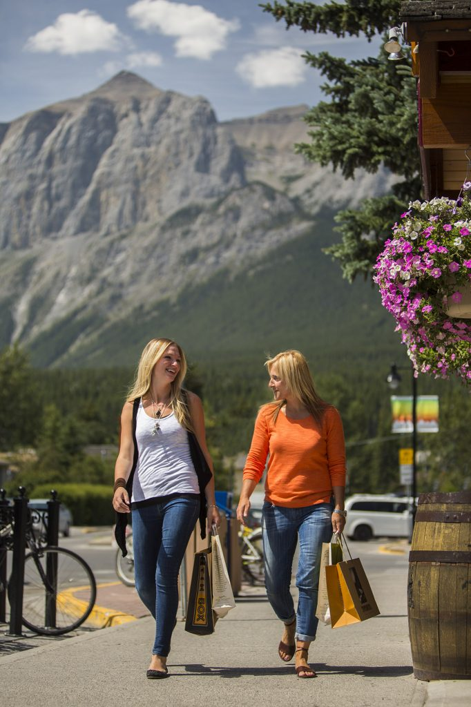 shopping in canmore