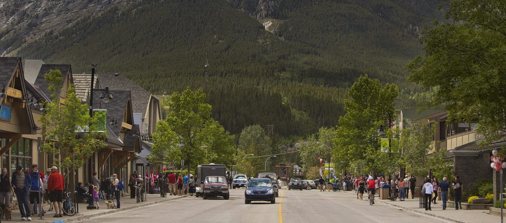Canmore downtown